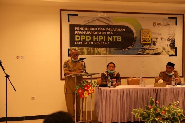 Pendidikan dan Pelatihan Pramuwisata Muda DPD HPI NTB Kabupaten Sumbawa