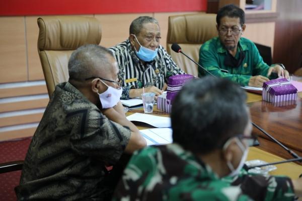 Wabup Pimpin Rapat ANEV Penanganan COVID-19 di Kabupaten Sumbawa